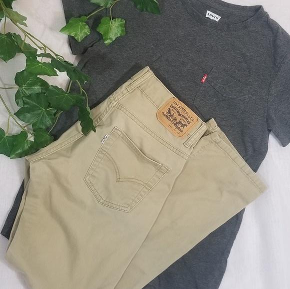 Levi's Other - Levi's 511 Slim Khaki Jean